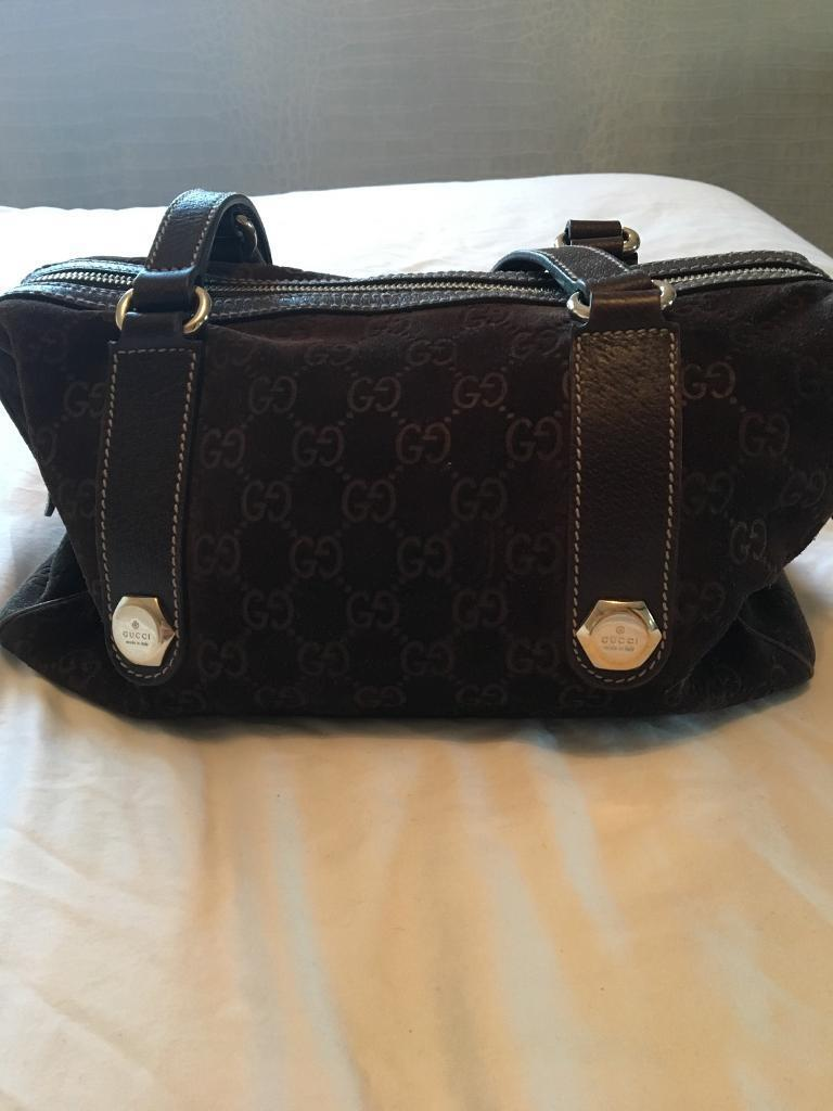 Genuine Gucci Handbag - Brown