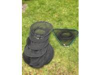 Fishing keepnet / landing net & carp sack