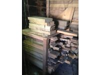 MIXED PINE ASSORTED OFF CUTS WOOD TIMBER