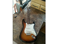 Squire Strat Electric Guitar 20th Anniversary Edition