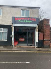 Pizza&burger shop in willenhall