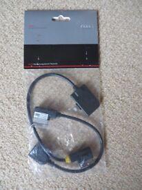 Audi AMI iPod/iPhone 'Apple Lightning' Adapterset Plus Ref. Code: 4F0051510AM