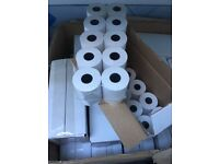 320 Till Rolls/ PDQ Thermal Rolls 57mm x 45mm from JUST EAT