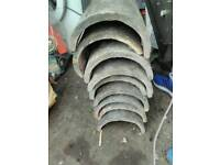 9 Roof tiles old