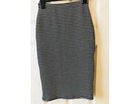 Striped midi skirt size 6