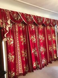 Pair of large curtains 4m x 2.4m