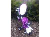 Smart trike pink purple