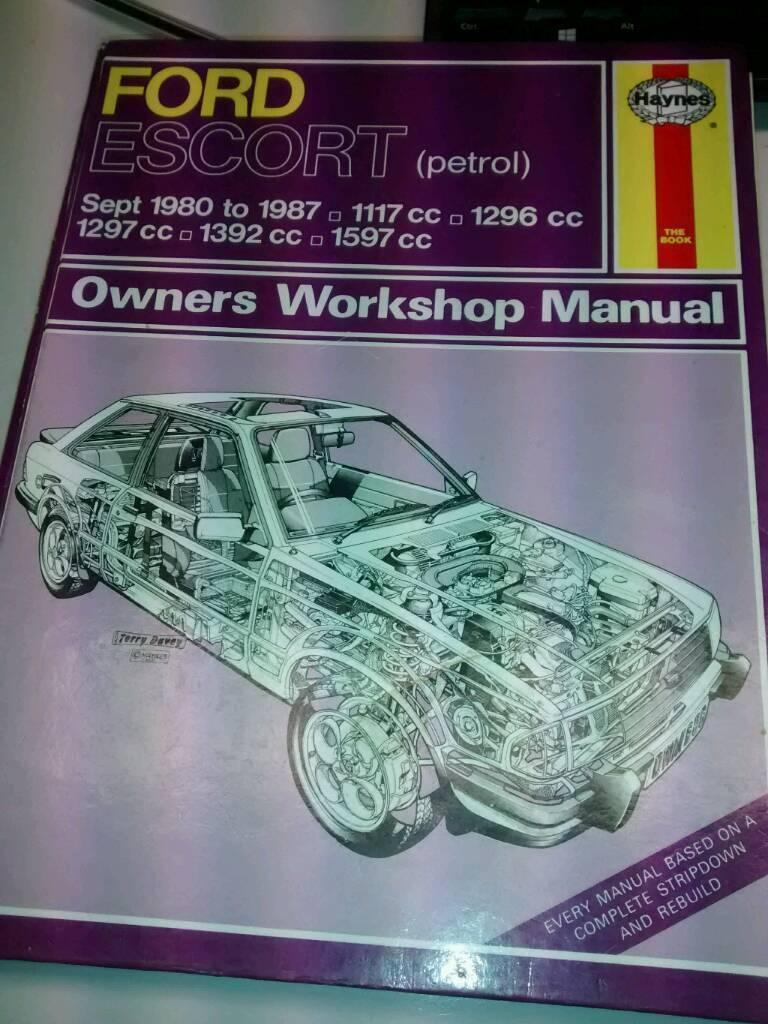 Haynes workshop manual ford escort