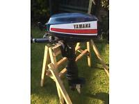Yamaha 8a 8hp long shaft outboard engine