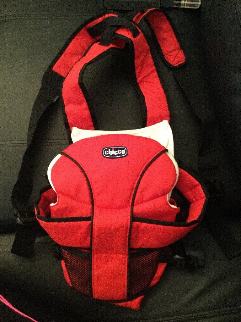 Chicco Baby Carrier In Red Black In Kirkcaldy Fife Gumtree