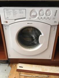 Hotpoint 6,5kg BHWM129 integrated washing machinr