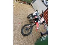 125cc pit bike road legal