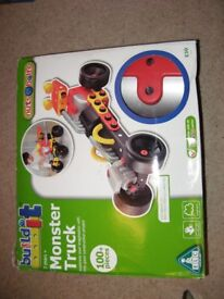 early learning centre build it 3 in 1 monster truck excellent condition in box and instructions