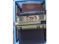 Box of Folio society books
