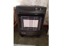Portable calor gas heater