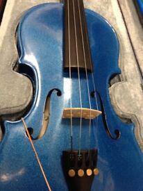 Stentor Harlequin Blue Violin Outfit - 3/4 size