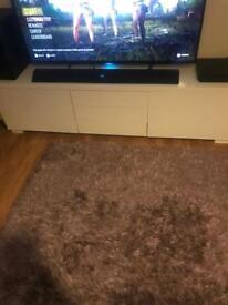 Ikea tv unit 6ft white high gloss