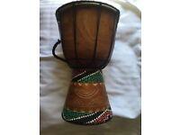 Djembe African drum bongo