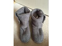 Grey 'Classic Cardy' Ugg Boots