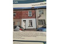 2 bed large double +1 box room free hold terrace house to let ��85 per week bills are on top