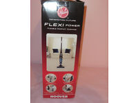 HOOVER FLEXI POWER CORDLESS VACUUM + HOSE ATTACHMENTS, Light, manoeuvrable for carpets, hard floors