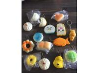 Squishies Keyrings. Brand new, £1 each. Can post or collect from Tqy