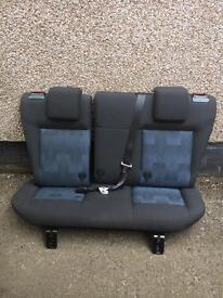 Mk6 Ford Fiesta rear seats