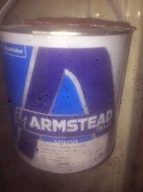 2.5L armstead white, 5L armstead white, 1L diamond eggshell white