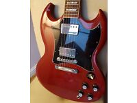 2001 Gibson SG cherry red