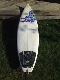 Surfboard 5'7ft Shortboard