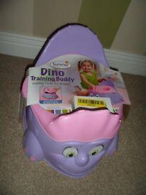 Large pink/purple sturdy untippable potty!