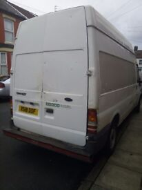 Transit Van in very good condition