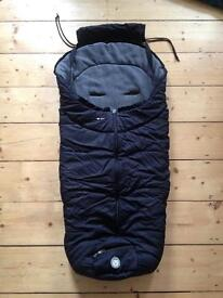 Alvi buggy sleeping bag / foot muff for mountain buggy or Phil and teds