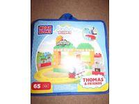 Thomas Mega Bloks set - Thomas at the Sodor Steamworks