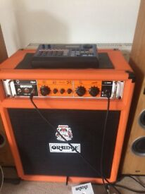 Orange OB1 300 watt bass combo