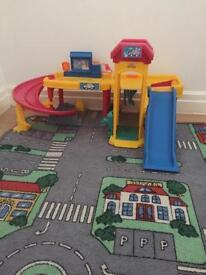 Car garage & play Matt
