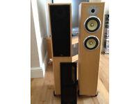 TDL Nucleus KV 6 Floor Standing Speakers