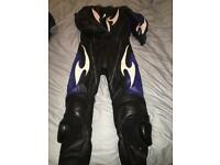 Ladies one piece leathers