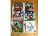 6 X DS Games Complete