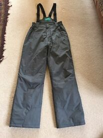 Youth Salopettes size age 13 years in grey x 2 pairs