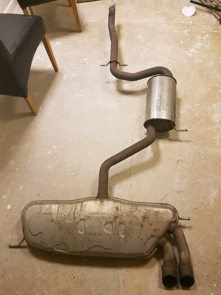 Audi a3 genuine exhaust 04-09