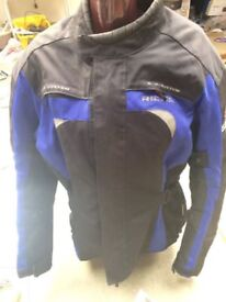 RICHA=A.V,SYSTEM GENTS MOTORCYCLE JACKET=2XL=VERY GOOD CONDITION