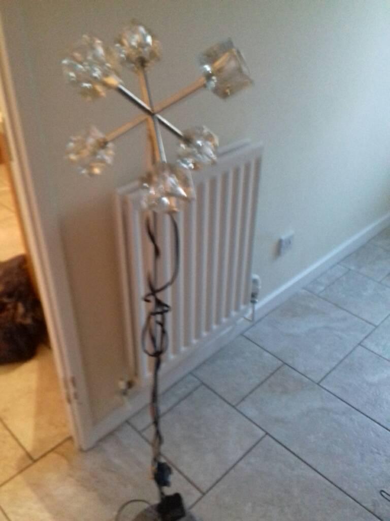 Ice cube floor lamp in oakwood derbyshire gumtree ice cube floor lamp aloadofball Gallery