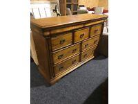 Extra large -NEW oak chest