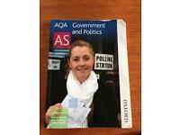 Government & Politics AS Textbook AQA