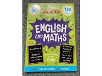 New Key stage 1 English & Maths bumper work book