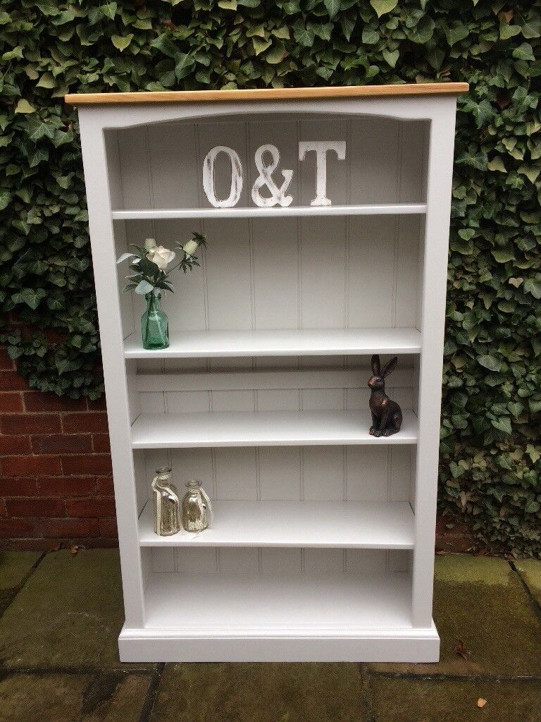 Solid Pine Country Cottage Style Bookcase