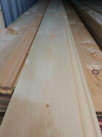 "New timber 7"" skirting board 14 ft long"