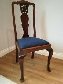 4 dining chairs for sale excellent condition £100