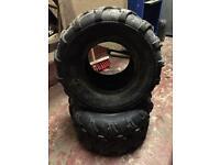 "8"" quad tyres"